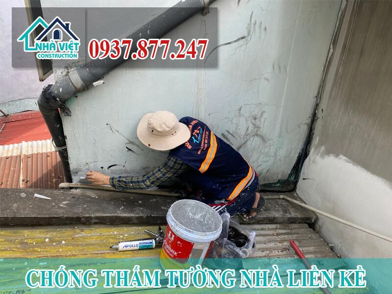 cach chong tham tuong nha lien ke 4 - Cách Chống thấm tường nhà liền kề Triệt Để 100% An Toàn
