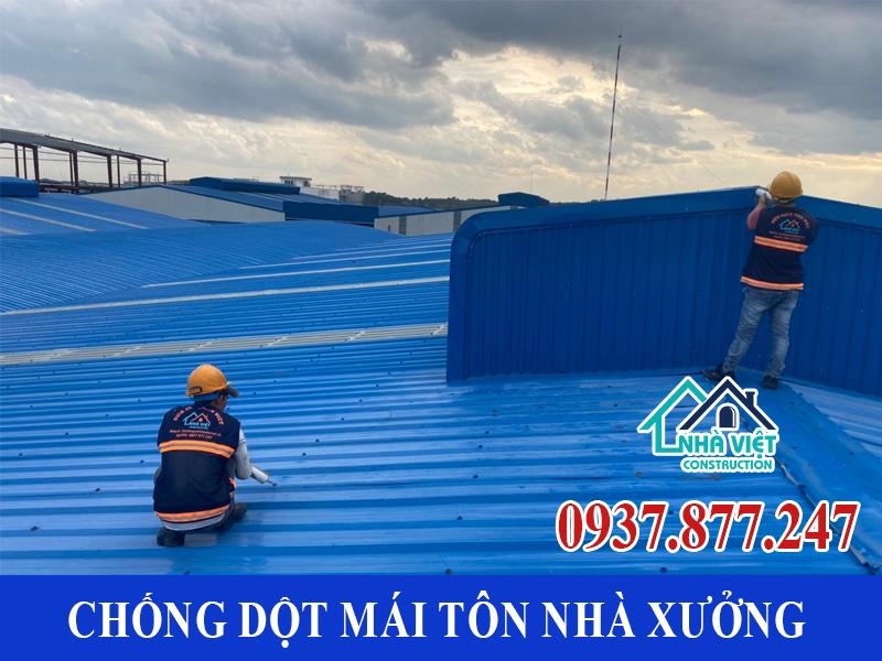 chong dot mai ton nha xuong uy tin 2 1 - Chống dột mái tôn nhà xưởng uy tín giá rẻ tại TPHCM