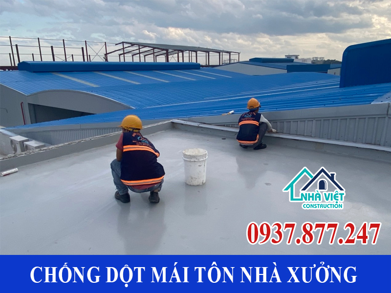chong dot mai ton nha xuong uy tin 4 1 - Chống dột mái tôn nhà xưởng uy tín giá rẻ tại TPHCM