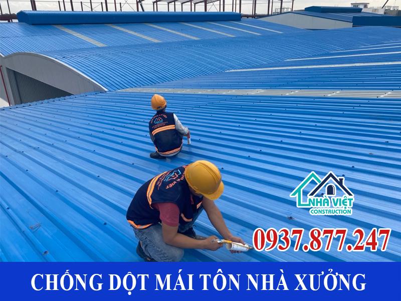 chong dot mai ton nha xuong uy tin 6 1 - Chống dột mái tôn nhà xưởng uy tín giá rẻ tại TPHCM