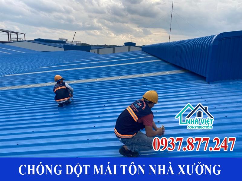 chong dot mai ton nha xuong uy tin 7 1 - Chống dột mái tôn nhà xưởng uy tín giá rẻ tại TPHCM