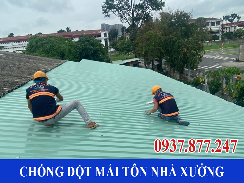 chong dot mai ton nha xuong uy tin 8 - Chống dột mái tôn nhà xưởng uy tín giá rẻ tại TPHCM