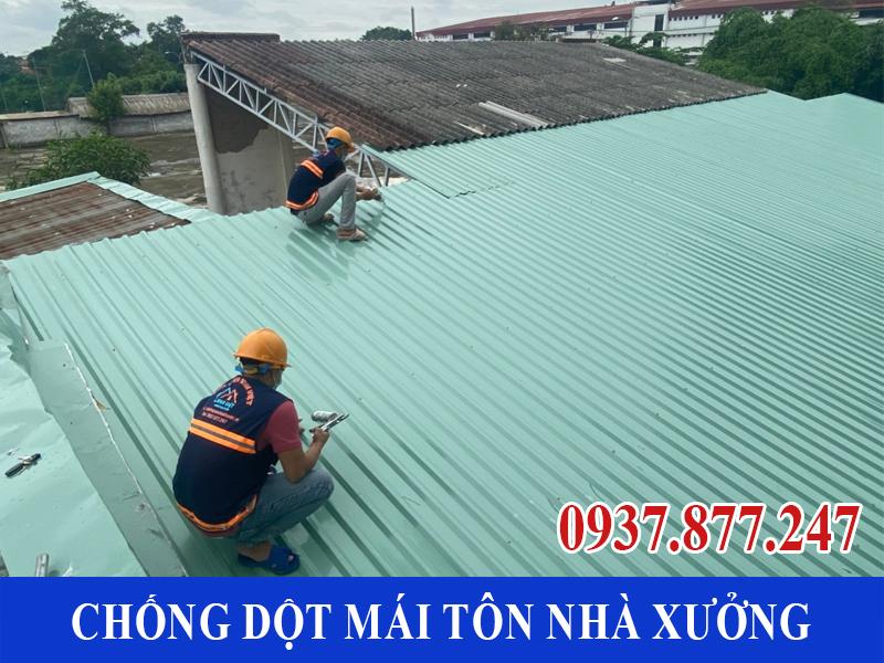 chong dot mai ton nha xuong uy tin 9 - Chống dột mái tôn nhà xưởng uy tín giá rẻ tại TPHCM