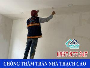 Cách Chống thấm trần nhà thạch cao hiệu quả tuyệt đối