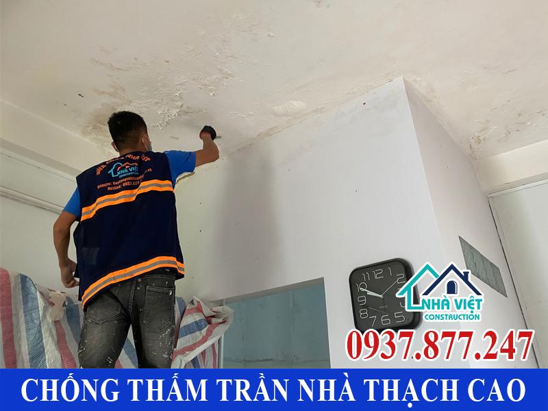 chong tham tran nha thach cao 4 - Cách Chống thấm trần nhà thạch cao hiệu quả tuyệt đối