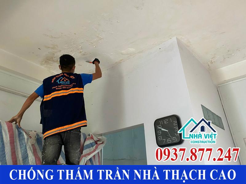 chong tham tran nha thach cao 5 - Cách Chống thấm trần nhà thạch cao hiệu quả tuyệt đối