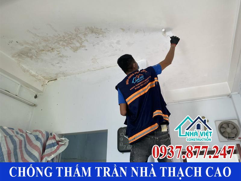 chong tham tran nha thach cao 6 - Cách Chống thấm trần nhà thạch cao hiệu quả tuyệt đối