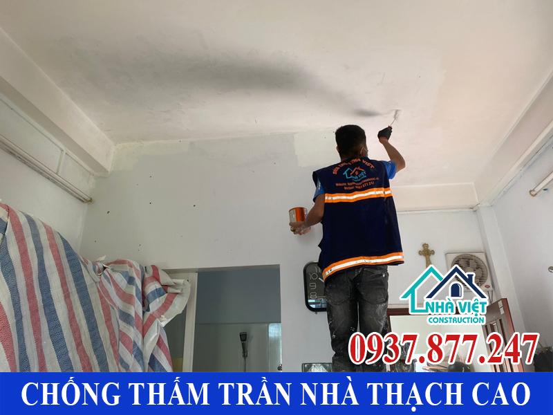 chong tham tran nha thach cao 7 - Cách Chống thấm trần nhà thạch cao hiệu quả tuyệt đối