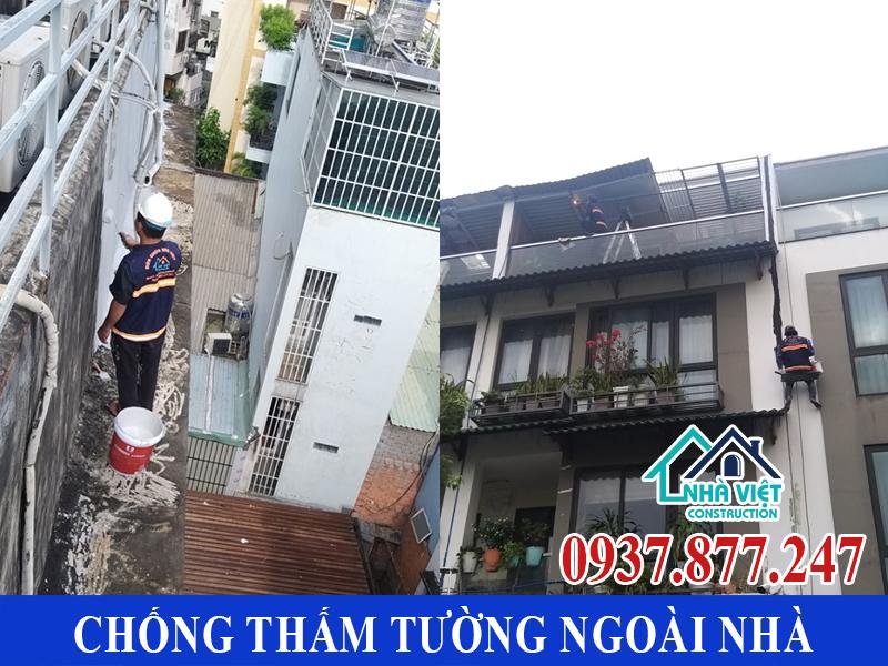 chong tham tuong ngoai nha gia re 1 - Chống thấm tường ngoài nhà giá rẻ chất lượng tại TPHCM