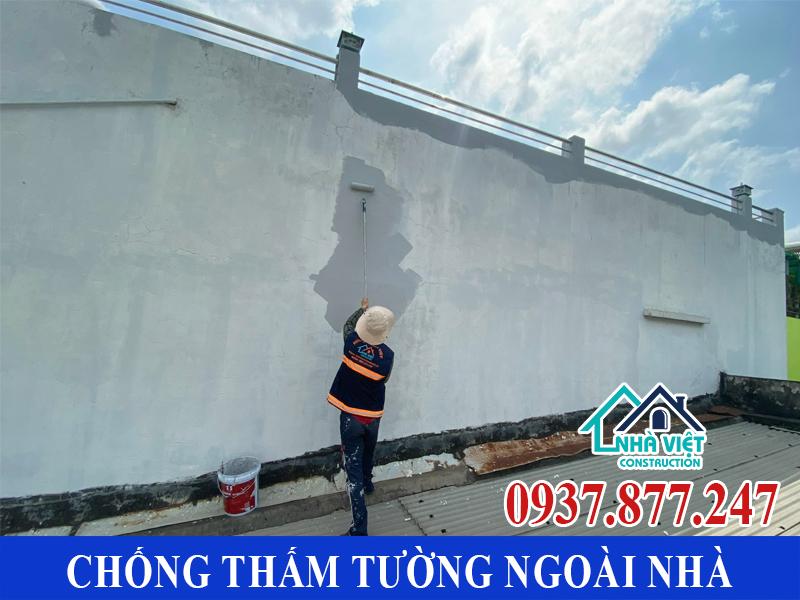chong tham tuong ngoai nha gia re 4 - Chống thấm tường ngoài nhà giá rẻ chất lượng tại TPHCM