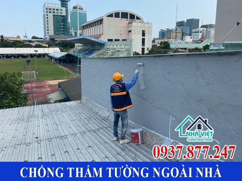 chong tham tuong ngoai nha gia re 5 - Chống thấm tường ngoài nhà giá rẻ chất lượng tại TPHCM