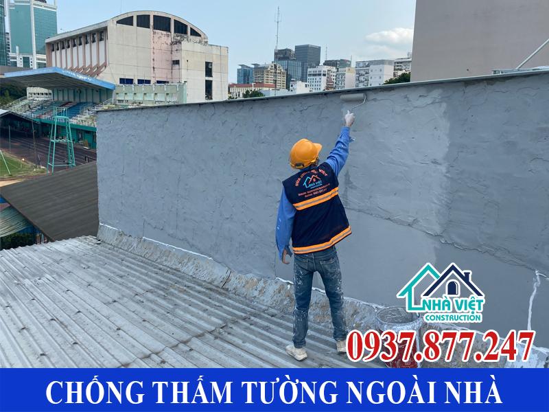 chong tham tuong ngoai nha gia re 6 - Chống thấm tường ngoài nhà giá rẻ chất lượng tại TPHCM
