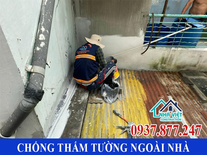 chong tham tuong ngoai nha gia re 8 - Chống thấm tường ngoài nhà giá rẻ chất lượng tại TPHCM