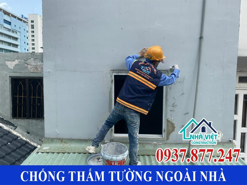 chong tham tuong ngoai nha gia re 9 - Chống thấm tường ngoài nhà giá rẻ chất lượng tại TPHCM