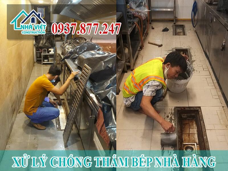 xu ly chong tham bep nha hang 5 - Xử lý chống thấm bếp nhà hàng hiệu quả số 1 tại TPHCM
