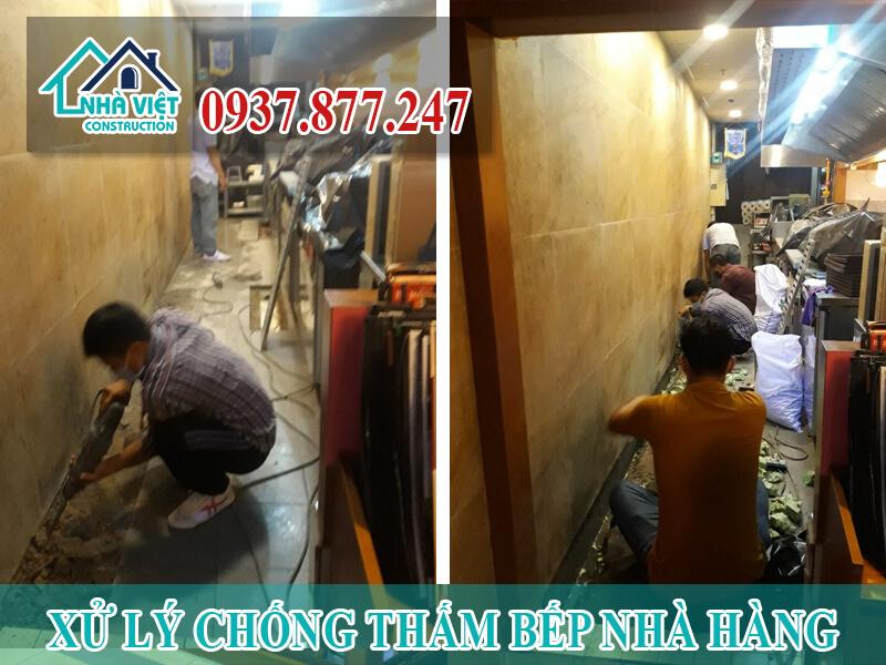 xu ly chong tham bep nha hang 6 - Xử lý chống thấm bếp nhà hàng hiệu quả số 1 tại TPHCM
