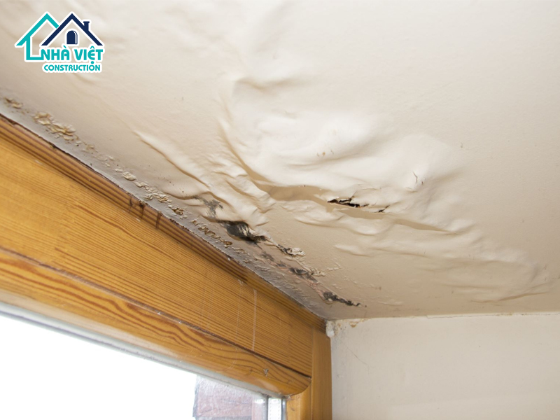 xu ly chong tham tran nha 12 - Cách Xử lý chống thấm trần nhà hiệu quả cao tại TPHCM