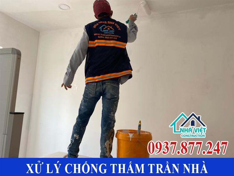 xu ly chong tham tran nha 5 - Cách Xử lý chống thấm trần nhà hiệu quả cao tại TPHCM