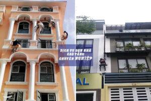Dịch vụ thi công sơn nước nhà cao tầng chuyên nghiệp