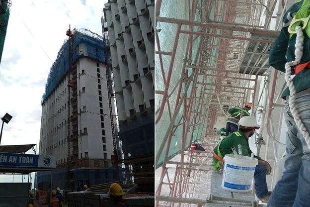 dich vu thi cong son nuoc nha cao tang chuyen nghiep tai tphcm 2 - Dịch vụ thi công sơn nước nhà cao tầng chuyên nghiệp tại TPHCM