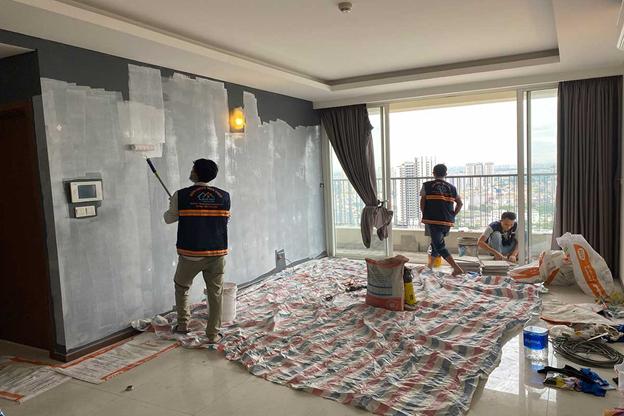 dich vu thi cong son nuoc nha cao tang chuyen nghiep tai tphcm 3 - Dịch vụ thi công sơn nước nhà cao tầng chuyên nghiệp tại TPHCM