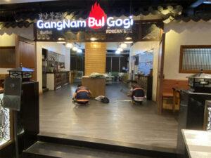 Thi công sửa chữa nhà hàng Gang Nam Bul Gogi Bình Tân