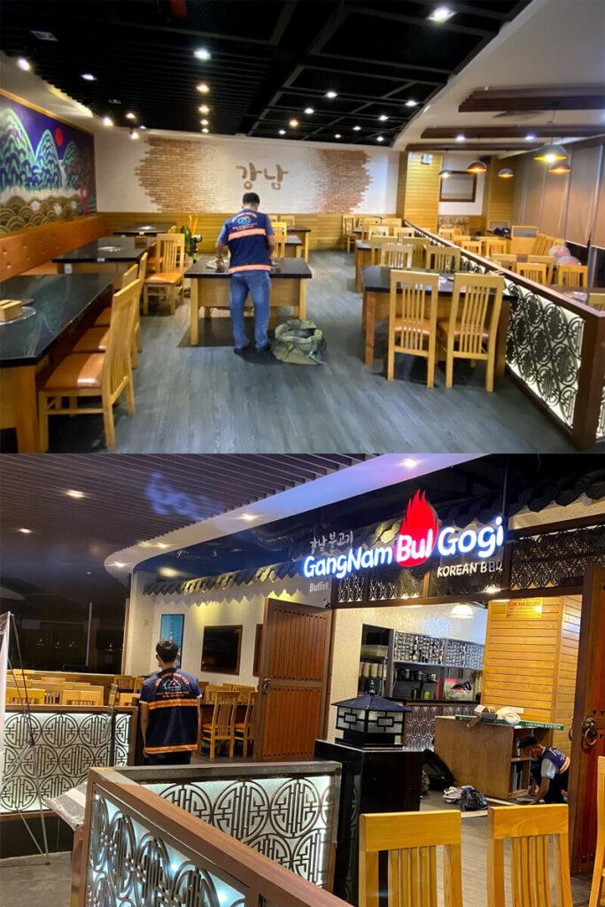 thi cong sua chua nha hang gang nam bul gogi binh tan 14 683x1024 - Thi công sửa chữa nhà hàng Gang Nam Bul Gogi Bình Tân