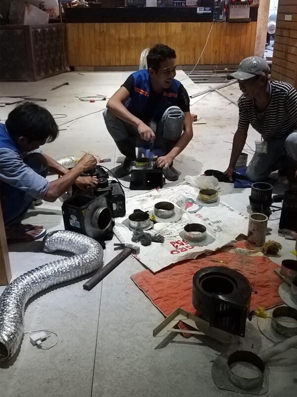thi cong sua chua nha hang gang nam bul gogi binh tan 2 - Thi công sửa chữa nhà hàng Gang Nam Bul Gogi Bình Tân