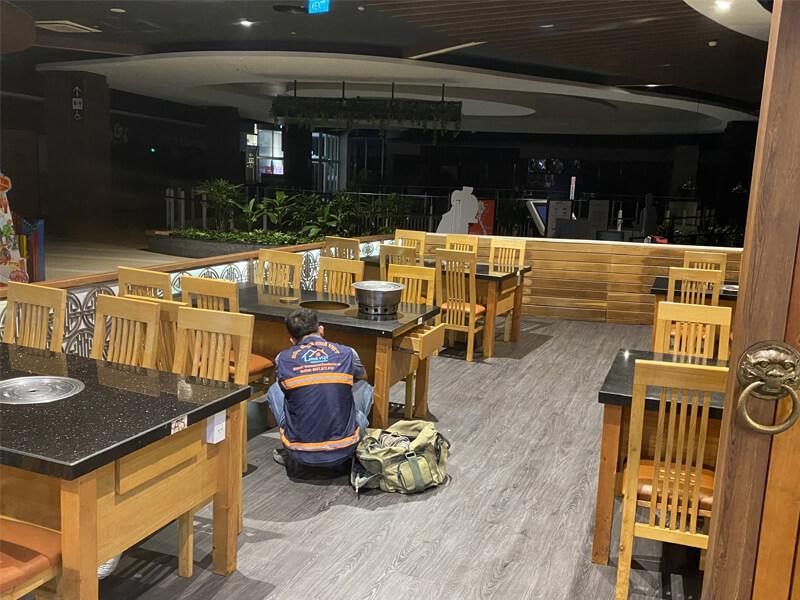 thi cong sua chua nha hang gang nam bul gogi binh tan 7 - Thi công sửa chữa nhà hàng Gang Nam Bul Gogi Bình Tân