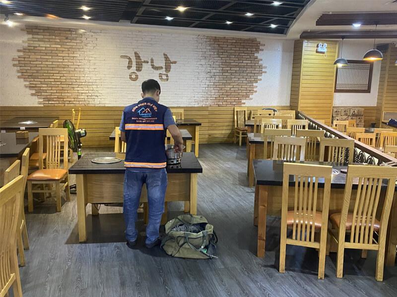 thi cong sua chua nha hang gang nam bul gogi binh tan 8 - Thi công sửa chữa nhà hàng Gang Nam Bul Gogi Bình Tân