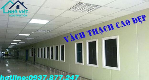 don vi thiet ke thi cong vach ngan thach cao dep tai tphcm bh 24 thang 11 - Đơn vị thiết kế thi công vách ngăn thạch cao đẹp tại TPHCM-BH 24 tháng