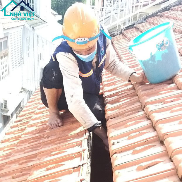 chong tham mang xoi tai quan7 2 - Sửa nhà phố tại quận 7 TPHCM – công trình nhà Chị Hương