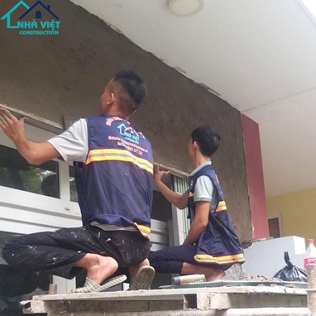 sua nha pho tai quan7 2 - Sửa nhà phố tại quận 7 TPHCM – công trình nhà Chị Hương